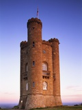 Broadway Tower Photographic Print by Steven Vidler
