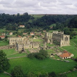 Rievaulx Abbey Ruins Photographic Print