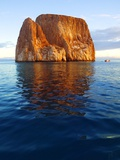 Kicker Rock in the Galapagos Islands Photographic Print by Keren Su