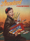 Standard Fireworks Magazine Advertisement Photographic Print