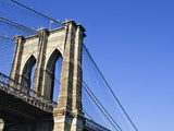 Brooklyn Bridge Photographic Print by William Manning