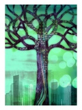 Computer Branches Giclee Print by Mark Owen