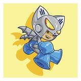 Mega Robo Bat Giclee Print by Tristan Eaton