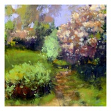 Spring Field Giclee Print by Lou Wall