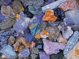 Assorted Minerals of the World Photographie par Walter Geiersperger