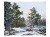 A Fine Winter's Day Giclee Print by Pieter Gerardus van Os