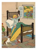 Early to Bed, Early to Rise Giclee Print by William Donahey