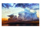 Sunset at Sea Giclee Print by Pat Fridell