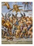 Detail of The Damned in Hell Giclee Print by Luca Signorelli