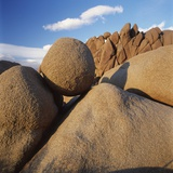 Rock Formation in Joshua Tree National Park Photographic Print by Micha Pawlitzki