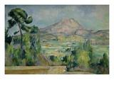 Montagne Sainte-Victoire Giclee Print by Paul Cézanne