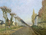 Rue de la Machine, Louveciennes Photographic Print by Alfred Sisley