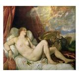 Danae Giclee Print by  Titian (Tiziano Vecelli)