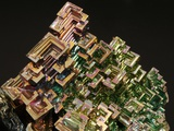 Crystalline Structure of the Element Bismuth Photographic Print by Walter Geiersperger
