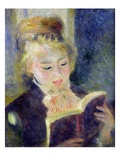 Girl Reading (1874) Giclee Print