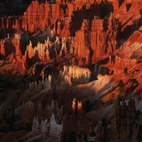 Hoodoos in Bryce Canyon National Park Photographic Print