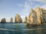 Rock Formations at Cabo San Lucas Photographic Print by Stuart Westmorland