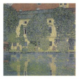 The Schloss Kammer on the Attersee III Reproduction procédé giclée par Gustav Klimt