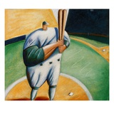 At Bat Giclee Print by Jud Guitteau