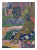 Vairaumati Tei Oa (Her Name is Vairaumati) Giclee Print by Paul Gauguin