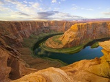 Horseshoe Bend on Colorado River Photographic Print by John Eastcott & Yva Momatiuk