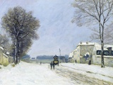 Winter, Snow Effect Photographic Print by Alfred Sisley
