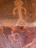 Petroglyphs in Zion National Park Photographic Print by Niall Benvie