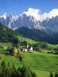 St. Magdalena in the Dolomites 写真プリント : ブレイネ・ハリングトン