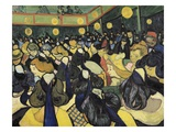 The Dance Hall at Arles Giclee Print by Vincent van Gogh