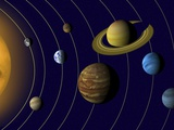 Solar System Photographic Print by Tim Kiusalaas