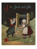 J for Jack and Jill Giclee Print