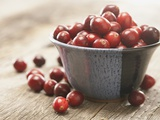 Bowl of cranberries Photographic Print by  Fancy