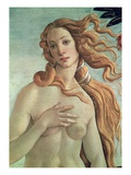 Detail of Birth of Venus Giclee Print by Sandro Botticelli