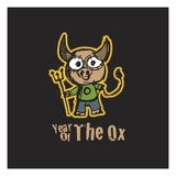 Year of the Ox Lámina giclée
