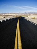 Road Through Desert Photographic Print by Elizabeth Pratt