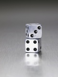 Pair of dice Photographie par Mark Weiss