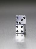 Pair of dice Reprodukcja zdjęcia autor Mark Weiss