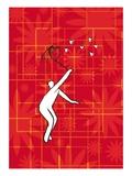 Love Hunter Giclee Print by Jordi Elias
