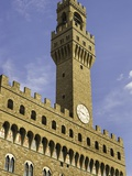 Arnolfo Tower at Palazzo Vecchio Photographic Print by Danny Lehman