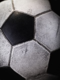 Soccer Ball Fotografie-Druck von Randy Faris