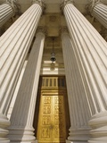 Bronze Doors of United States Supreme Court Photographic Print by William Manning