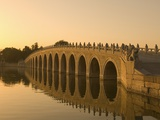 Seventeen Arch Bridge on Kunming Lake in Beijing Photographic Print by Xiaoyang Liu