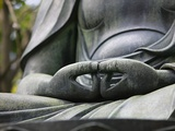 Detail of Buddha Statue at Senso-ji, Tokyo Photographic Print