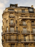 Paris apartments Photographic Print