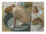 The Tub Giclee Print by Edgar Degas