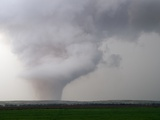 Tornado Touching Down in Texas Photographic Print by Reed Timmer