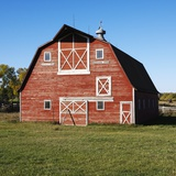 Red Barn Photographic Print by Ron Chapple