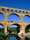 Pont du Gard Photographic Print by Steven Vidler