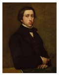 Self-Portrait Giclee Print by Edgar Degas