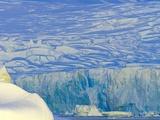 Wiggins Glacier Descending into Sea Photographic Print by John Eastcott & Yva Momatiuk